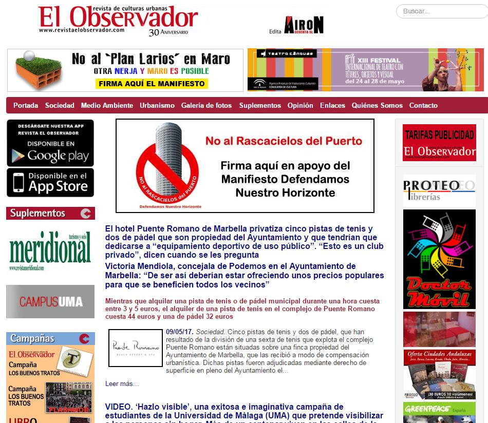 REVISTAELOBSERVADOR.COM